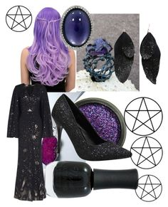 """""""Witches aren't Evil"""" by imortalsnail on Polyvore featuring Roberto Coin, Alexander McQueen and Charlotte Russe"""