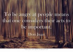 Their acts, their beliefs, their looks, etc.; it goes on and on. You can disagree, but don't waste your energy or pollute yourself by feeling hatred.