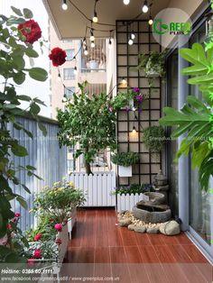 Herb Gardens Simple Tips Untitled - Balkon Ideen Small Balcony Design, Small Balcony Garden, Small Balcony Decor, Balcony Plants, House Plants Decor, Plant Decor, Balcony Ideas, Potted Plants, Apartment Balcony Garden