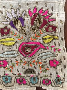 """Antique Ottoman-Turkish Silk & Gold Metallic Hand Embroidery On Linen Fragment 2 FOR SALE • $250.00 • See Photos! Money Back Guarantee. You are viewing an attractive example of embroidery. I'm offering a lovely """"yaglık'' fragment. Origin: Turkey Example from the: Ottoman periodColourway of the fabric : ecru It is a hand 122431124586"""