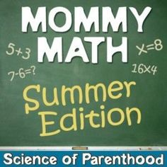Even if the Common Core leaves you clueless, you'll solve these Mommy Math problems like a real math whiz!