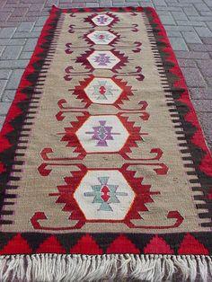"""Anatolian Turkish Antalya Kilim Rug Carpet 28 7"""" x 77 9""""   eBay"""