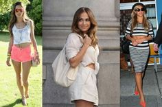 Celebrity Style Looks: The Crop Top