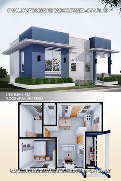 Minimal House Design, Modern Small House Design, Simple House Design, Tiny House Layout, House Layouts, Sims House Plans, Small House Plans, Affordable House Plans, House Construction Plan