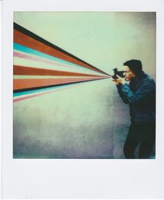 Created by Francisco Chavira using Impossible PX680 film in the Instant Lab