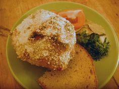 Vegetarisk julskinka - Senapsgriljerad kålrot
