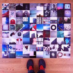 Instagram prints, printed with Superprints