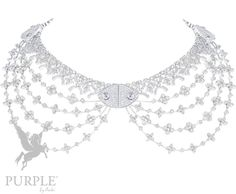 Want to experience glamour check this DENTELLE DE PRINTEMPS NECKLACE with white gold and diamonds by @louisvuitton #purplebyanki #love #instagood #beautiful #diamond #finejewellry #highjewellry #DentelleDePrintemps #Necklace #whitegold #LV Diamond Choker, Chokers, White Gold, Louis Vuitton, Glamour, Purple, Diamonds, Beautiful, Jewelry