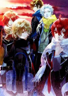 Tags: Anime, Scan, Nanami Kanata, Kazuaki, Starry☆sky~