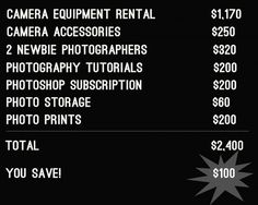 What if I told that you could get wedding photos at a fraction of the cost that professionals will charge you, would you be interested in that? I bet you w