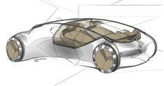GB: quick Renault sketch Car Design Sketch, Car Sketch, Industrial Design Sketch, City Car, Futuristic Design, Car Drawings, Transportation Design, Mobile Design, Automotive Design