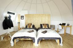 Luxury glamping dome yurt in Antarctica?! YES PLEASE.  Definitely on the travel bucket list!