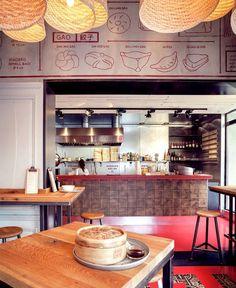 Baobao Asian Restaurant Decor