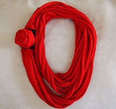 Tee Shirt Scarf (R). Starting at $15 on Tophatter.com!