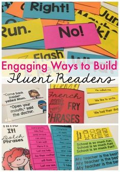 Fun ideas for boosting fluency and fluent reading in your classroom!