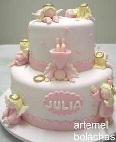 Galletas artemel: Primera comunión Julia