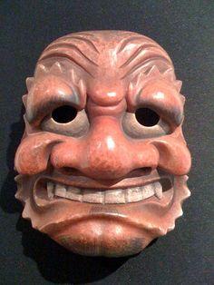 Noh mask.