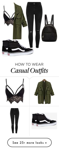 """""""Casual-litty"""" by stylingbobo on Polyvore featuring River Island, Club L, Vans and STELLA McCARTNEY"""