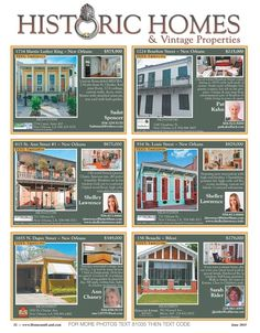 Check out our Historic Homes page in our newest issue of Homes & Land Magazine! Homes & Land of Greater New Orleans, LA Online Magazine-2154 - Volume 11 Issue 04