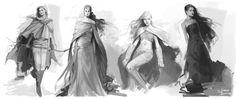 Aelin, Lysandra, Manon, Nesryn