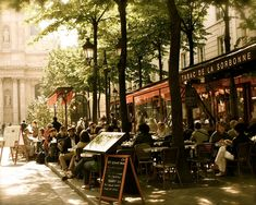 Paris - Tabac de la Sorbonne - Cafe Print - via Etsy  Walked past here many times the last time I was in Paris
