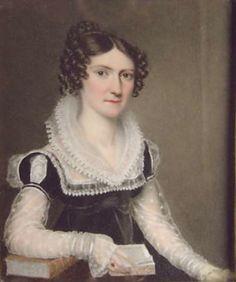1822 Harriet Bainbrigge, later Mrs. Robert Dale by William Corden the Elder (location unknown to gogm)