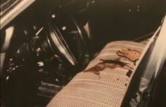 The interior of Ken Eto's car after the murder attempt. Chicago Outfit, Life Of Crime, Al Capone, The Life, Gangsters, Car, Interior, Automobile, Indoor