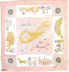 pink silk scarves