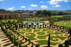 Picture of VERSAILLES, FRANCE - OCTOBER Gardens of Versailles Palace on October 2011 in Versailles. The Palace of Versailles is a royal chateau with beautiful gardens and fountains. stock photo, images and stock photography. Most Beautiful Gardens, Amazing Gardens, Beautiful Places, Versailles Garden, Palace Of Versailles, Marie Antoinette, Peninsula Paris, Paradise Garden, Travel Channel