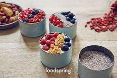 Müsli und Porridge mit Beeren - was gibt es besseres?