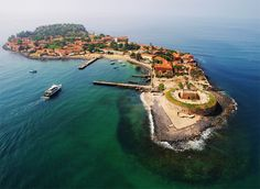 Goree Island in Dakar, Senegal is known as 'The house of slaves' and was built in 1776 by the Dutch. During the Atlantic Slave trade, slaves were sold there and transported to the Americas. Today it's an UNESCO World Heritage Site.