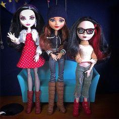 Duchess, Rosabella & Lizzie