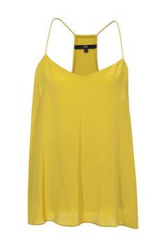 #Tibi #top #yellow #silk #vintage #secondhand #fashion #mode #style #fashionblogger #onlineshopping #mymint