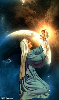 Mother Mary holding up Jesus, savior of the world. Miséricorde Divine, Divine Mother, Mother Goddess, Religious Pictures, Jesus Pictures, Blessed Mother Mary, Blessed Virgin Mary, Virgin Mary Art, Catholic Art