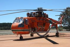 Aussie fire fighting helicopter