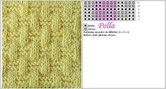 ?? PLETENÍ - KNITTING vzory do vzorníků   Hlavní diskuse   diskuse   Fler.cz Lace Knitting Stitches, Knitting Patterns, Crochet Patterns, Knitted Hats, Babys, Dots, Patterns, Babies, Knit Patterns