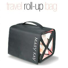 FREE travel roll-up bag just for hosting a Mary Kay party with me! Contact me at: www.marykay.com/beatriztavarez