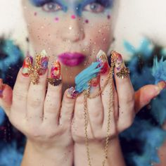 Rio carnival queen nails photo contest for Yournails magazine