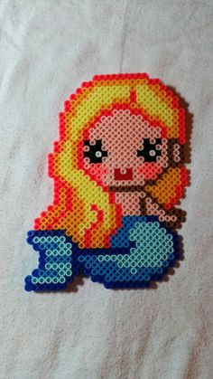 Check out this item in my Etsy shop https://www.etsy.com/listing/203434008/large-cute-perler-bead-mermaid