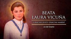 Hoy celebramos a la Beata Laura Vicuña, protectora de la dignidad y pureza de la mujer