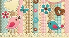 sewing wallpaper - Pesquisa Google