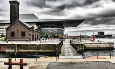 The Opera in Copenhagen on an overcast day in June