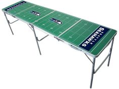 Seahawks beer pong table!     You can find the link to these on the facebook post it is pinned from!