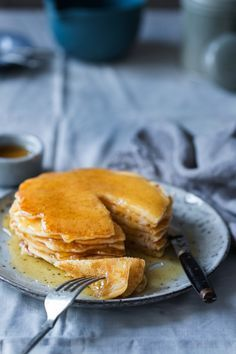 Tortitas americanas. Food and Cook