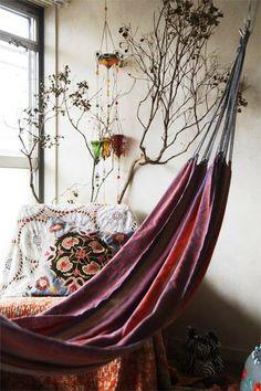 Bohemian style cozy corners