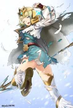 I hope you are ready to look at some cute Fjorm pictures ;) - Fire Emblem Heroes Message Board for Android Fire Emblem Characters, Fantasy Characters, Anime Art Girl, Manga Girl, Fire Emblem Games, Warrior Girl, Beautiful Anime Girl, Illustrations And Posters, Anime Style