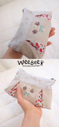 sewing tutorial for pouch ♥