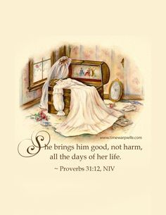 Proverbs 31 Scripture - Free Printables   Time-Warp Wife - Empowering Wives to Joyfully Serve