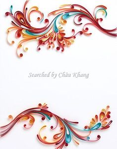 Quilling © Yulia Brodskaya (Searched by Châu Khang)