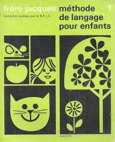 Manuels anciens: Bertrand, Frérot, Frère Jacques, Méthode de langage pour enfants 1, 1983